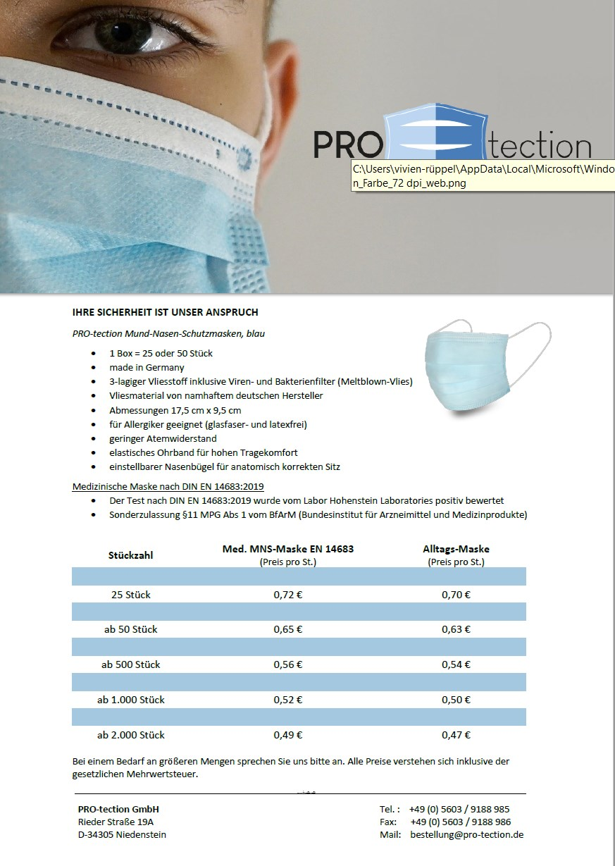 Flyer PRO-TECTION